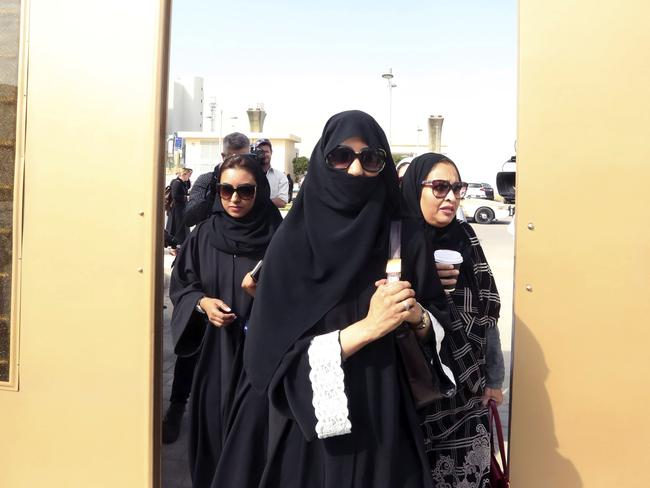 Resistance to change ... Some men are unhappy about Saudi women being able to vote believing their place is at home, not politics. Picture: AP/Aya Batrawy