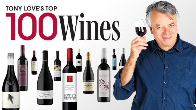 Tony Love's Top 100 Wines