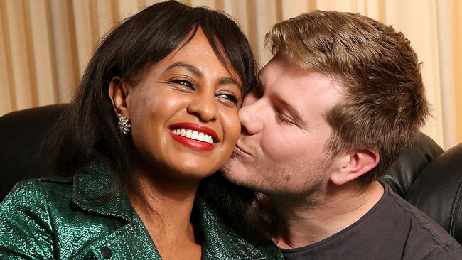 <i>Married at First Sight </i>couple Zoe Hendrix and Alex Garner have split up. Picture: Ian Currie