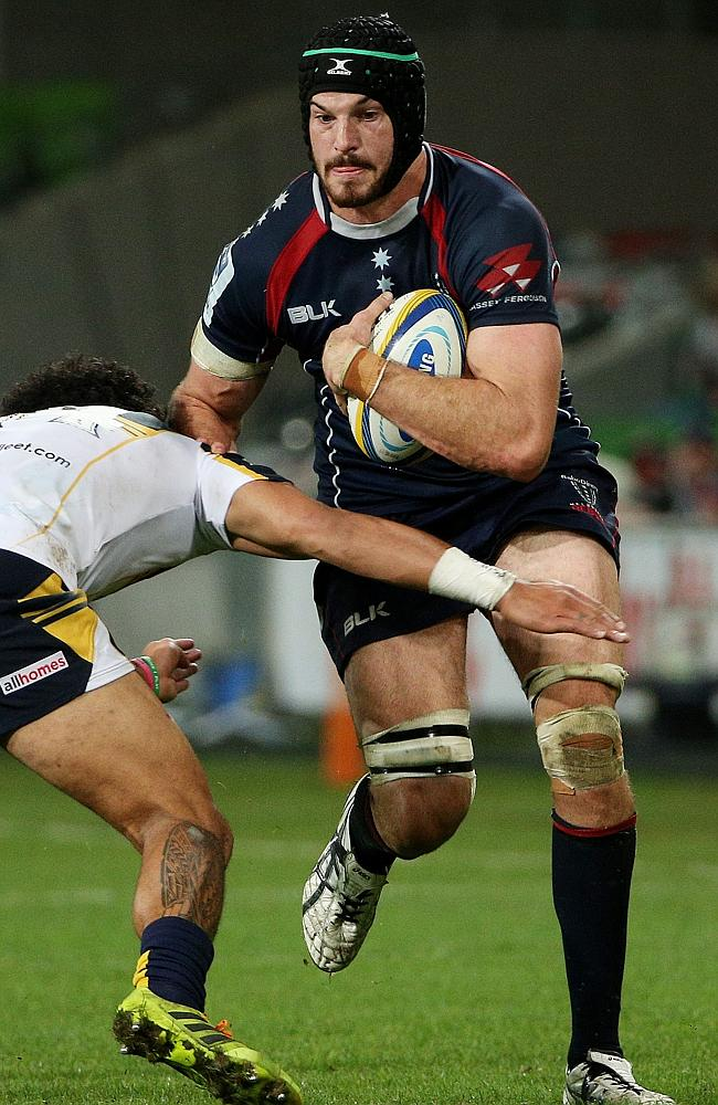 Hugh Pyle will rack up 50 Super Rugby caps for Melbourne.