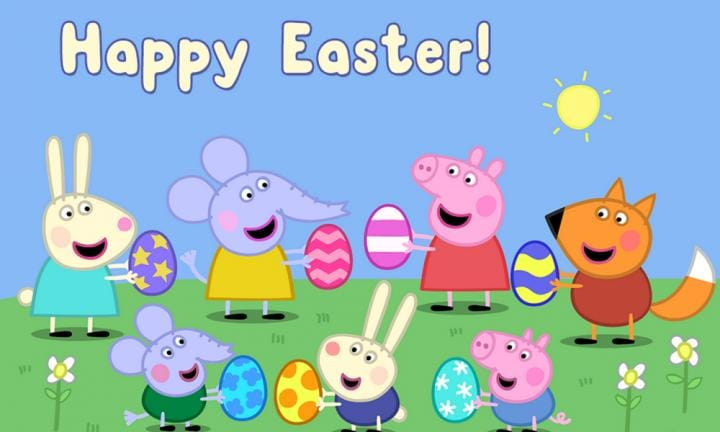 Peppa Pig Easter activity sheets. More fun than muddy puddles!