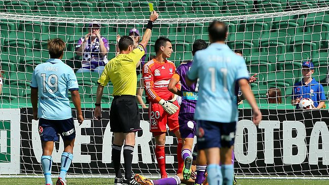 It was a frustrating afternoon for Sydney FC out west.