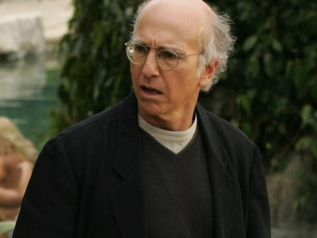 Larry David is particularly awkward in Curb Your Enthusiasm.