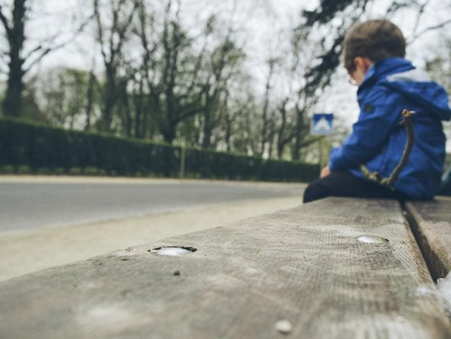 Vulnerable child ... A review last year found that 114 files that could be related to child abuse by top UK politicians in the 1980s have gone missing and may have been destroyed. Picture: Thinkstock