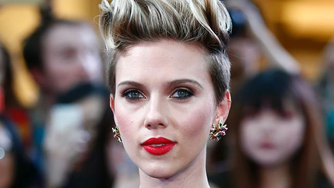 Scarlett Johansson may be the smartest movie star around. She has launched her own business designed to pop the very treat that cinema goers consume by the handful. Picture: AFP