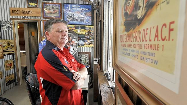 Pitstop cafe owner John Alexander believes the bikie laws have led to loss in trade for pubs/cafe on scenic routes. Pic: Brad Cooper