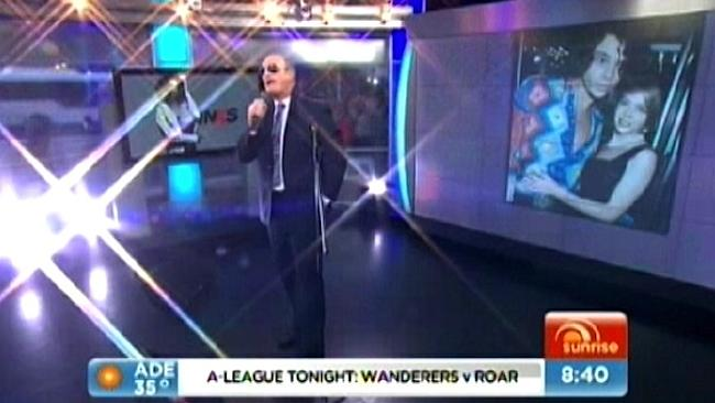 Kochie gave it his all, and you have to love a performer who gives it 100 per cent.