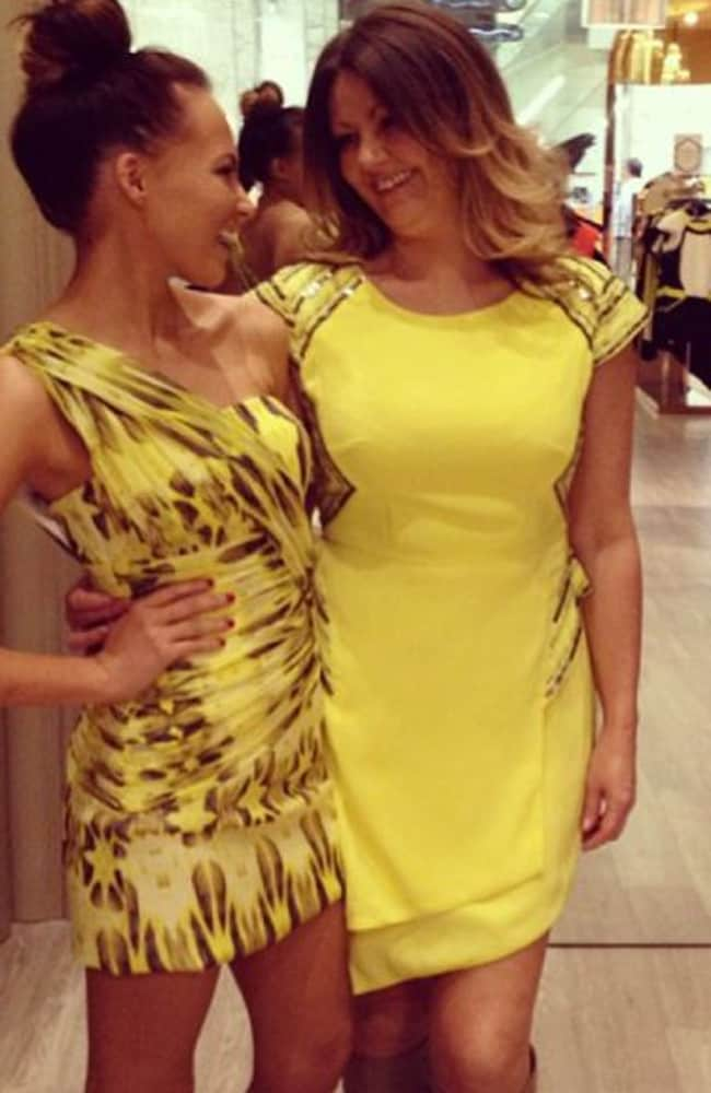 Samantha Jade and her mother Jacqui Gibbs on Instagram