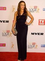 Georgie Parker during the Red Carpet Arrivals ahead of the 56th TV Week Logie Awards 2014 held at Crown Casino on Sunday, April 27, 2014 in Melbourne, Australia. Picture: Jason Edwards