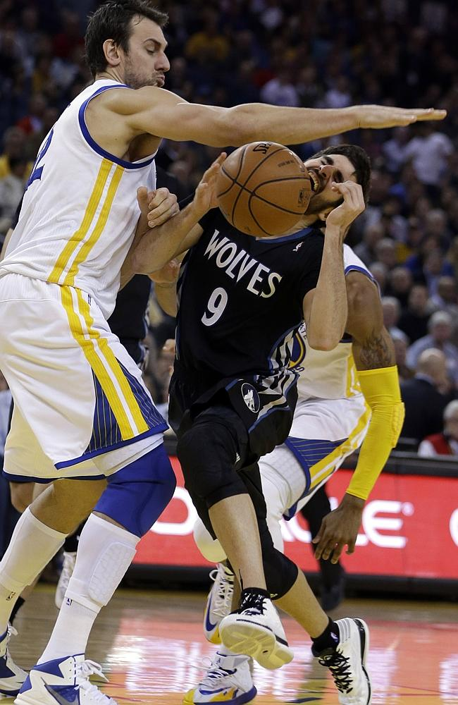 Andrew Bogut is a huge loss for the Warriors.
