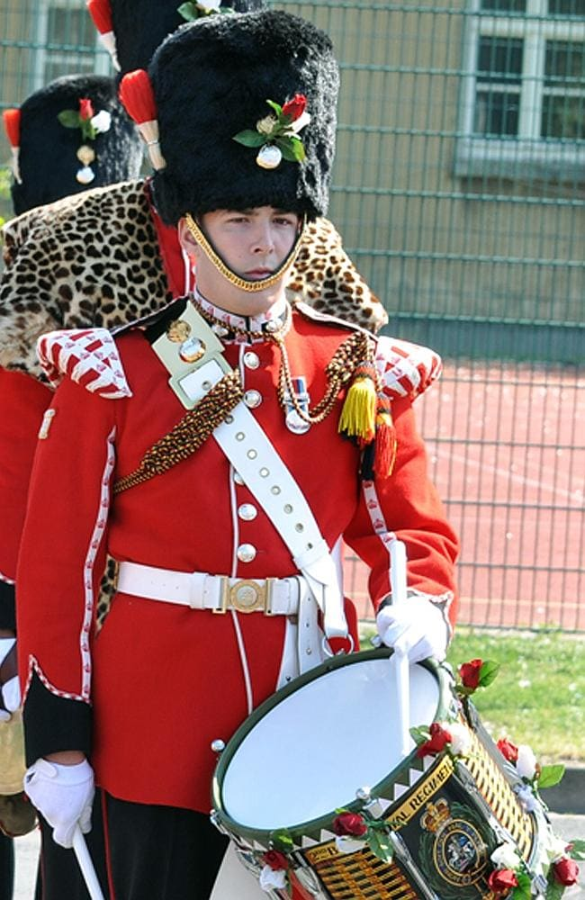 Frenzied attack ... Drummer Lee Rigby of 2nd Battalion The Royal Regiment of Fusiliers was stabbed to death on a London street. Picture: AP