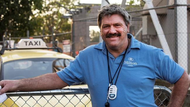 Slur ... AFL commentator Brian Taylor caused a social media storm with his comment.