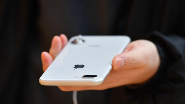 The security flaws in Intel and AMD chips could affect Apple iPhones. Picture: AAP Image/Joel Carrett