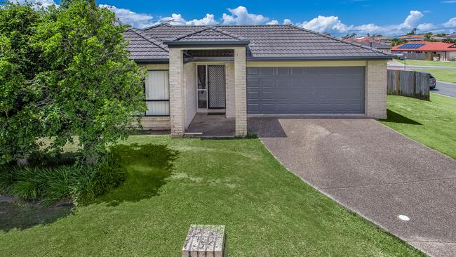 This home at 4 Lydia Court in Deception Bay that recently sold is just a quick drive from the new train line.Source: Supplied