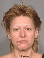 <p>'Faces of meth' pictures from the Multnomah County Sheriff, showing the effects of methamphetamine addiction.</p>