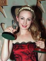 "Winner of the Gold Logie Award 1998. Lisa McCune in ""Blue Heelers"", Seven Network."