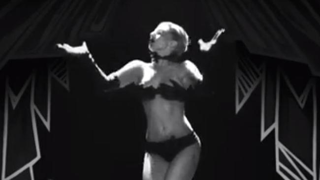 The handkini will be all the rage in the clubs. Picture: Lady Gaga/Vevo