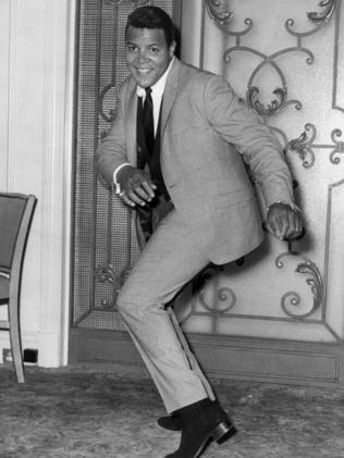 In his heyday in 9162 ... Let's Twist singer Chubby Checker.