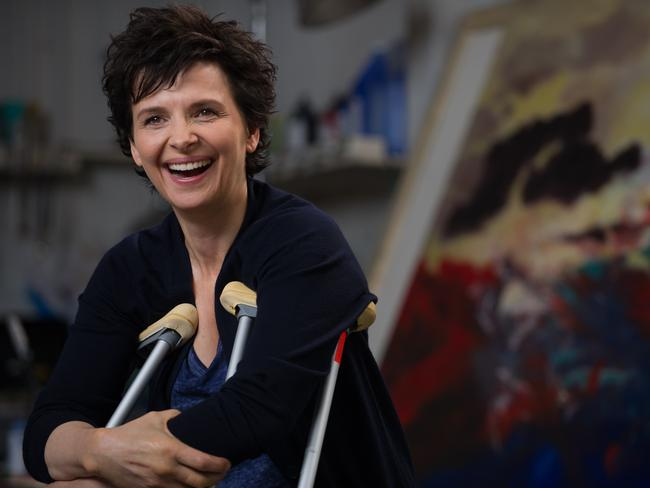 Binoche plays a painter who turns to teaching in  <i>Words and Pictures</i>.