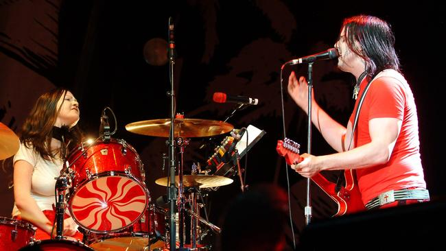 21st century rockers ... The White Stripes song 'Seven Nation Army' was number 25 on the list.