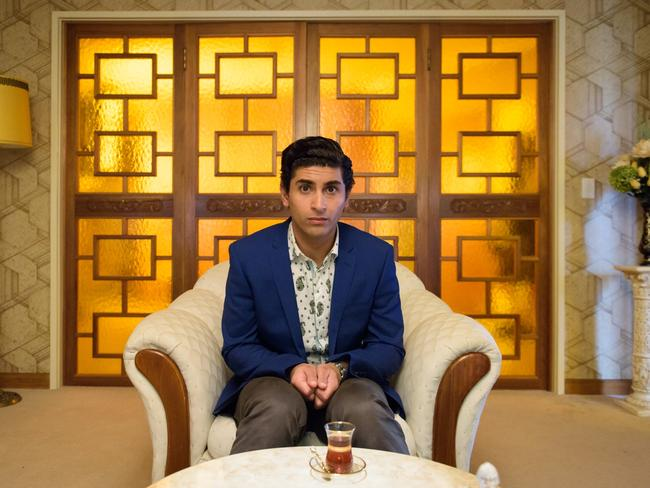 Osamah Sami, the star of Ali's Wedding, won Best Original Screenplay along with co-writer Andrew Knight. Picture: Madman