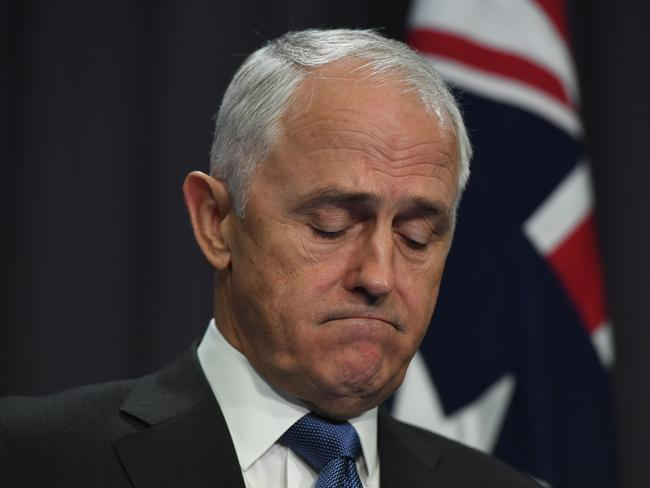 Australian Prime Minister Malcolm Turnbull said Australia stands in solidarity with the people of Britain. Picture: AAP