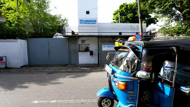 The UNHCR office in the Sri Lankan capital of Colombo. Picture: Nathan Edwards