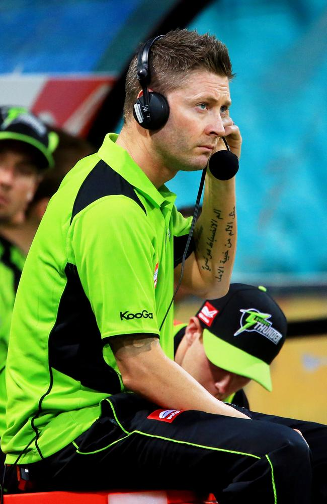 Michael Clarke never played a game for the Thunder but was still involved with the team.