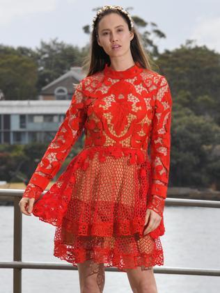 The fashion today. Picture: Simon Bullard