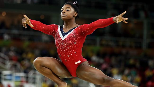 Simone Biles isn't afraid to tell her story any more.