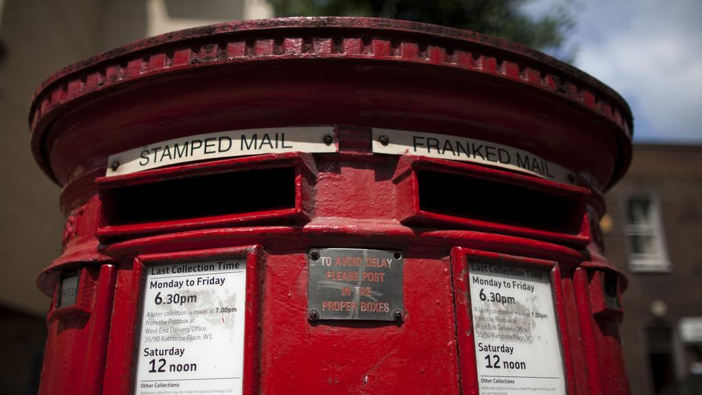 A British postbox