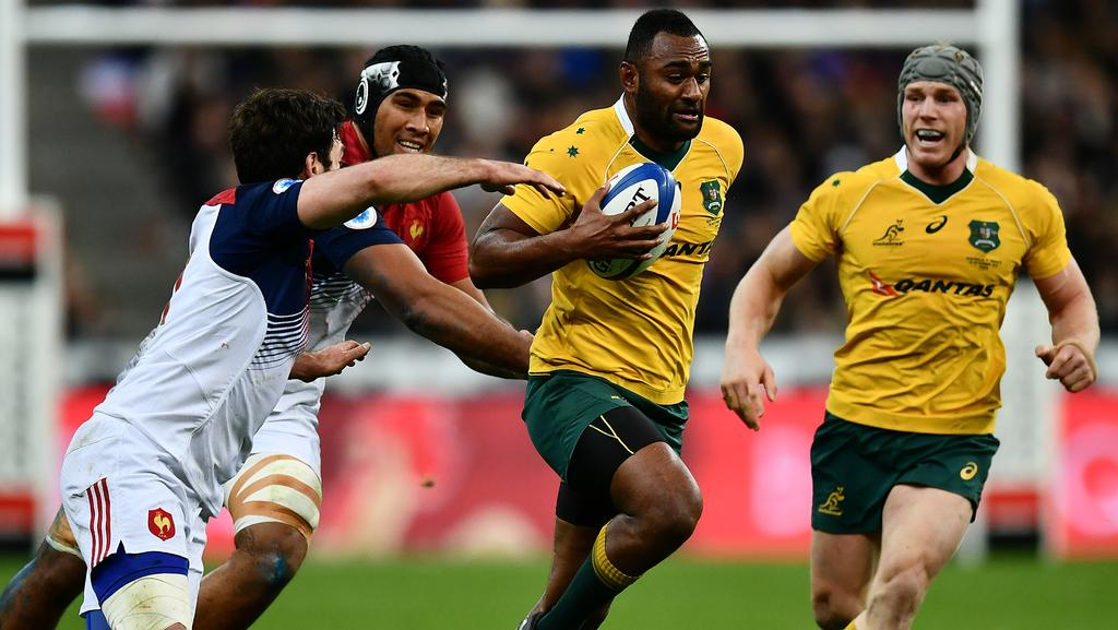 Tevita Kuridrani is in great form. Picture: Getty Images