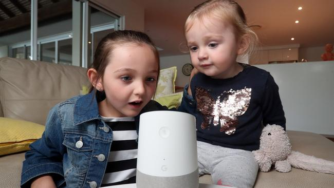 Google Home speakers will read books ranging from May Gibb's  <i>Snugglepot and Cuddlepie </i>to Neil Degrasse Tyson's  <i>Astrophysics for People in a Hurry</i>. Picture: Richard Gosling