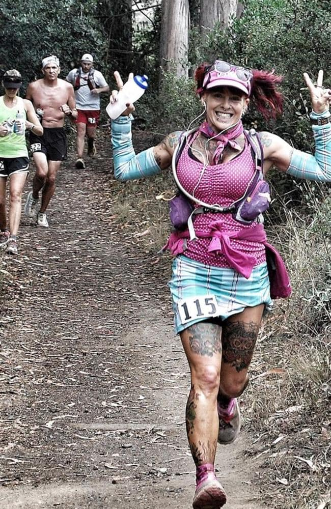 The 50-year-old has run 250 ultra-marathons.