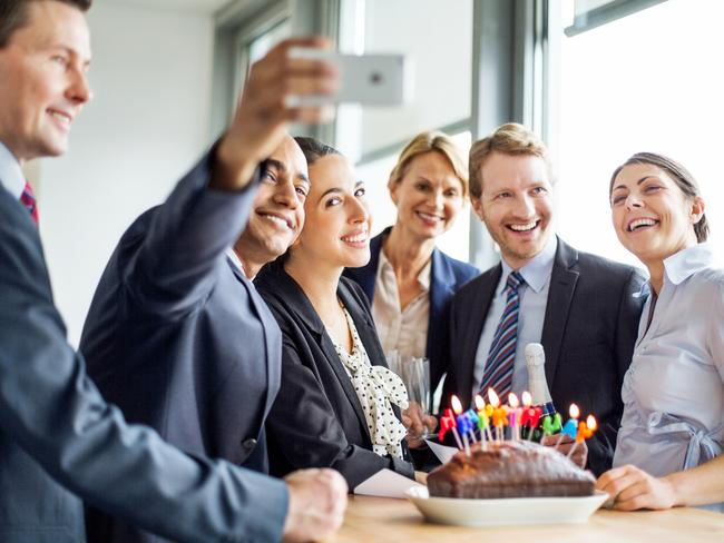 Birthday cake in the office is a killer if you're trying to keep your weight down. Picture: iStock