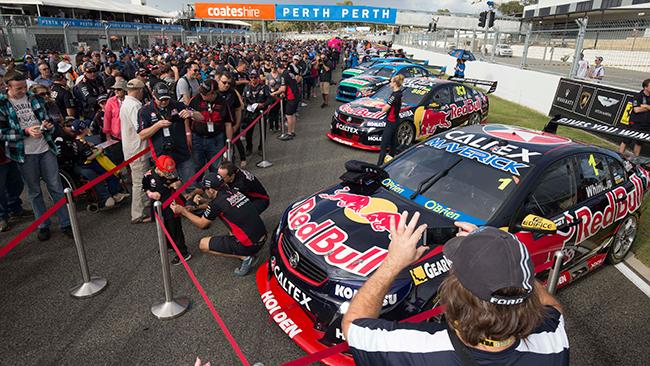 win a double pass to the v8 supercars perth supersprint