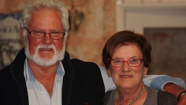 Outback B&B owners Ken and Anna Male