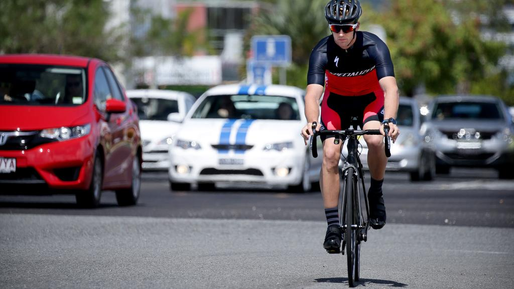 If you allow a cyclist to make you so angry that it causes your driving to become unsafe, you don't deserve to be behind a wheel of a car. (Pic: Marc McCormack)