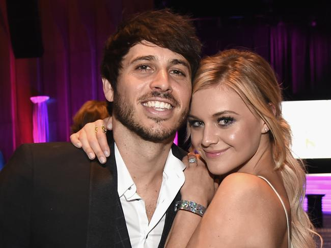 Morgan Evans and Kelsea Ballerini get married next month. Picture: Getty