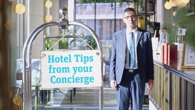 Concierge asked to gain 'blonde baby'