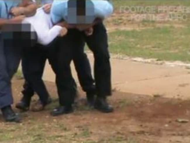 Video footage forms part of the damning report by The Australian Human Rights Commission.