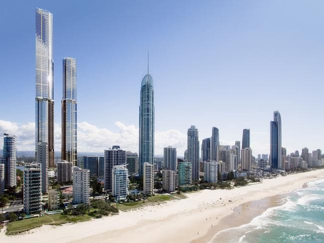 Australia's tallest building: Gold Coast and Melbourne ...