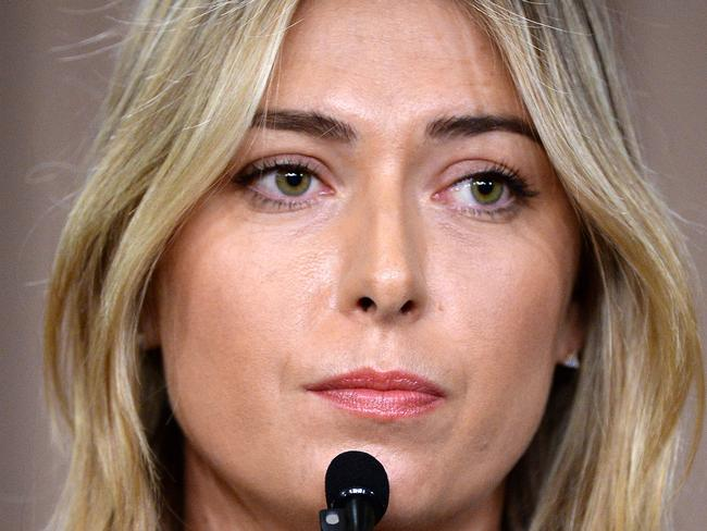 Sharapova slapped with embarrassing snub