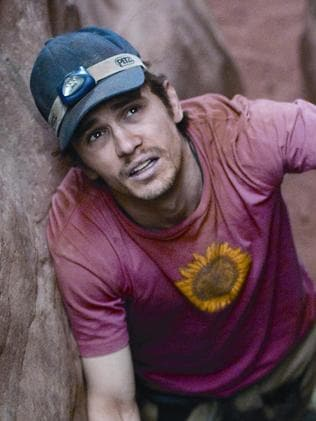 James Franco as Aron Ralston.
