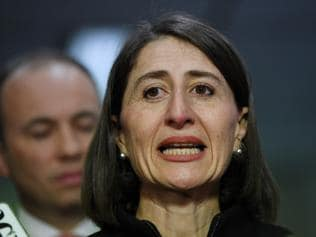 NSW Premier Gladys Berejiklian speaks after making an announcement about the opening of Sydney Start-Up Hub, a world leading start-up and innovation precinct based in Sydney on Thursday, July 13, 2017. (AAP Image/David Moir) NO ARCHIVING