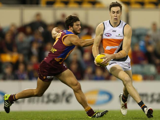 Cameron missed the Giants' win over Carlton. Picture: Jono Searle