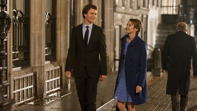 Shailene Woodley in a scene from Fox film  <i>Fault In Our Stars</i>