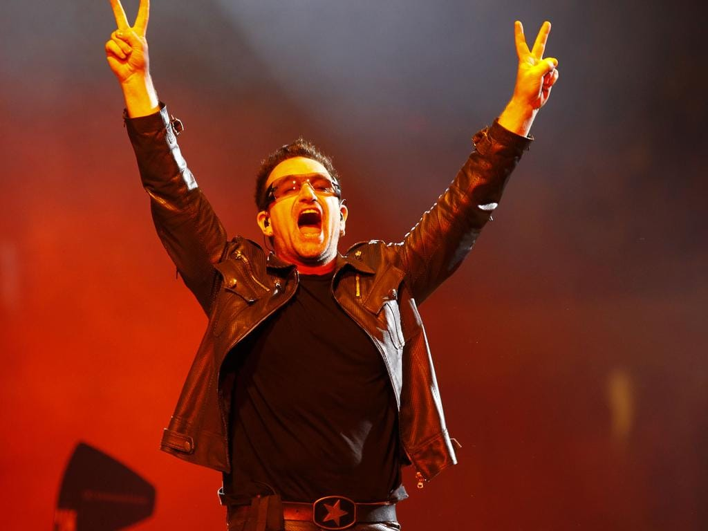 In the name of hate: what is it about U2 that makes people love or loathe them? Pic: AP