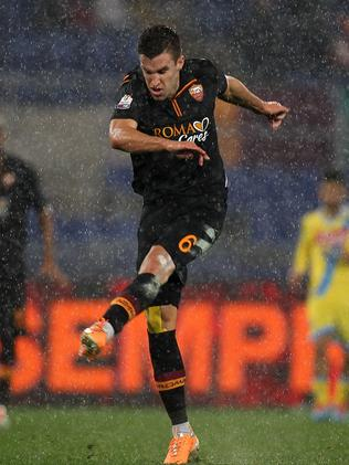 Kevin Strootman of AS Roma.