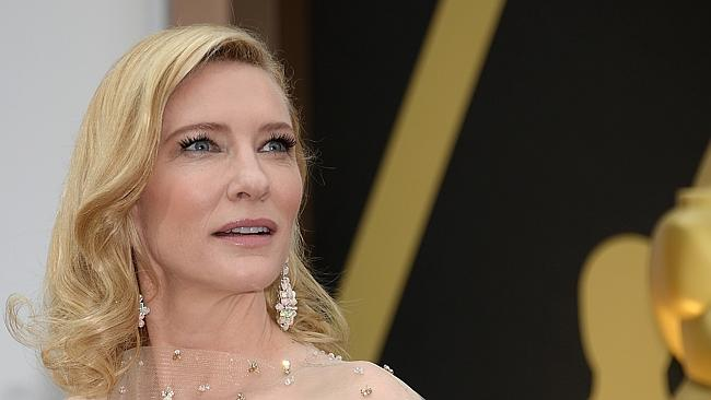 Triumph ... Cate Blanchett has won an Oscar for her role in Blue Jasmine.
